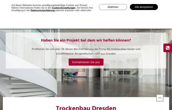 Vorschau von www.iksdresden.de, IKS Baugesellschaft mbH