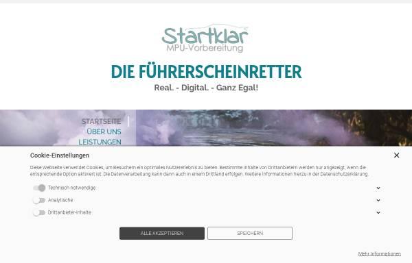 Vorschau von www.startklar-mpu.de, startklar-MPU
