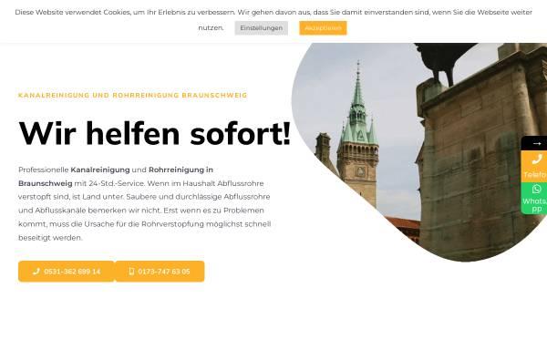 Vorschau von kanal24h-braunschweig.de, 24h Rohr & Kanal Hilfe GmbH