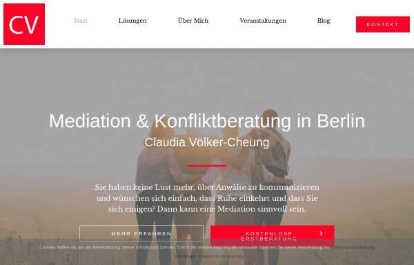 Vorschau von www.claudia-voelker.de, Claudia Völker-Cheung