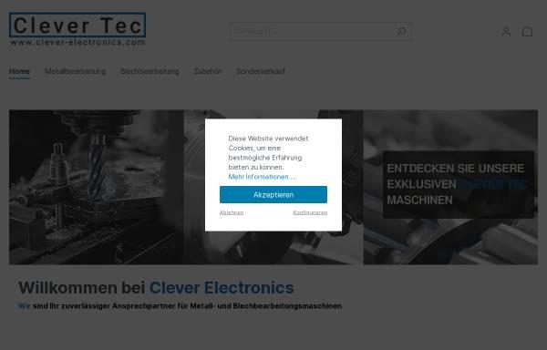 Vorschau von clever-electronics.com, Clever Electronics GmbH