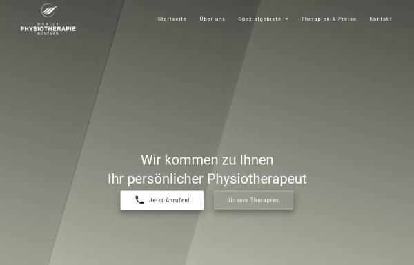 Vorschau von mobilephysiotherapiemuenchen.de, Mobile Physiotherapie München