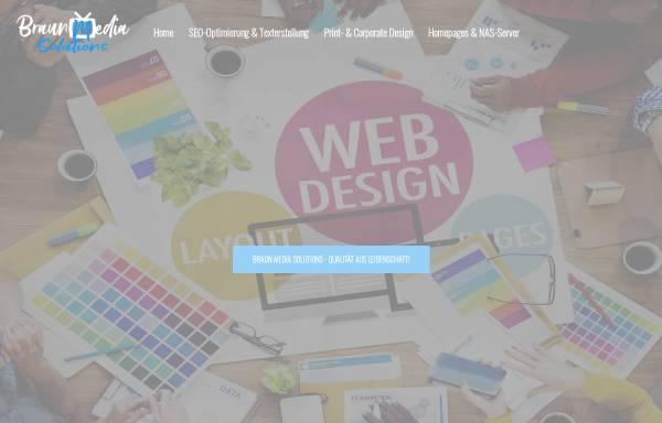 Vorschau von www.Braun-MS.de, Braun Media Solutions