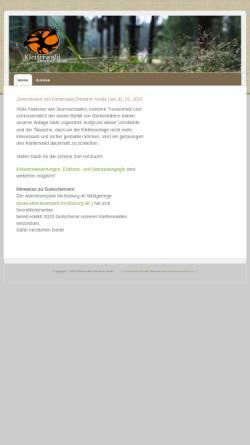 Vorschau der mobilen Webseite www.kletterwald-dresdner-heide.de, Kletterwald Dresdner Heide