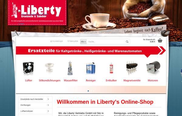 Vorschau von www.libertyshop.de, Liberty Vertriebs GmbH