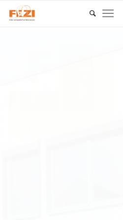 Vorschau der mobilen Webseite www.fezi-wetterstein.de, FEZI