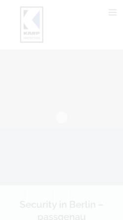 Vorschau der mobilen Webseite karp-protection.de, Karp Protection