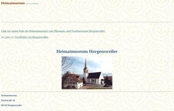 Vorschau von www.hergensweiler.info, Heimatmuseum Hergensweiler