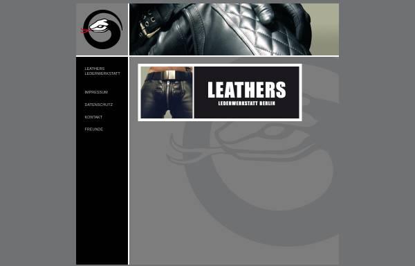 Vorschau von leathers.de, Leathers