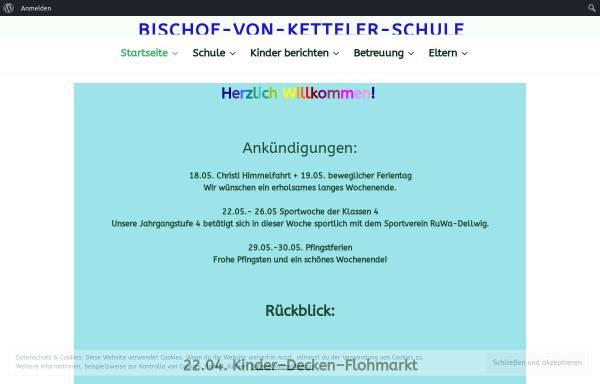 Vorschau von www.bischof-von-ketteler-schule.de, Bischof-von-Ketteler-Schule