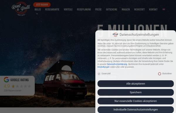 Vorschau von rent-a-bulli.de, Rent-a-Bulli