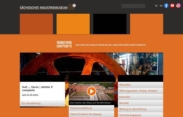 Vorschau von www.energiefabrik-knappenrode.de, Energiefabrik Knappenrode