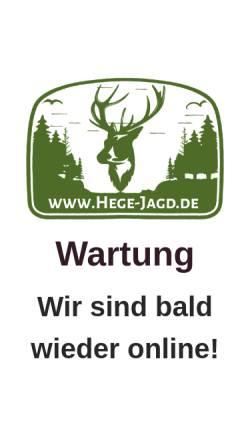 Vorschau der mobilen Webseite hege-jagd.de, Hege und Jagd Sven Häber und Carsten Hofmann GbR