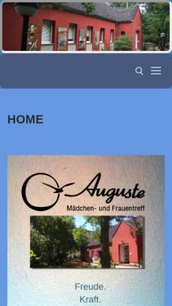 Vorschau der mobilen Webseite www.interkultureller-maedchentreff.de, Interkultureller Mädchentreff
