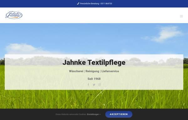 Vorschau von jahnke-textilpflege.de, Wäscherei Jahnke GmbH