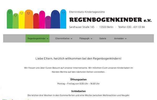 Vorschau von www.regenbogenkinder-berlin.de, EKT - Regenbogenkinder e.V.