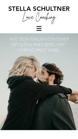 Vorschau der mobilen Webseite www.stellaschultner.com, Stella Schultner Hypnocoaching