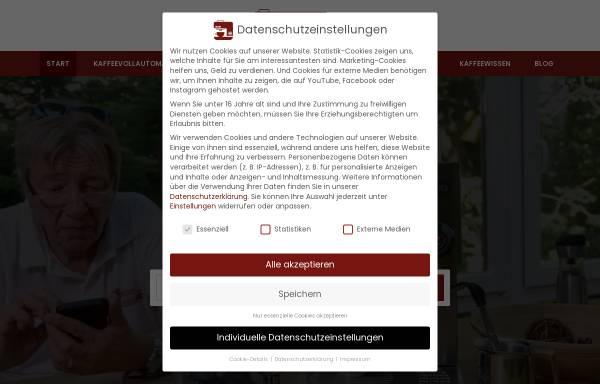Vorschau von www.kaffeevollautomat-berater.de, Kaffeevollautomat-Berater