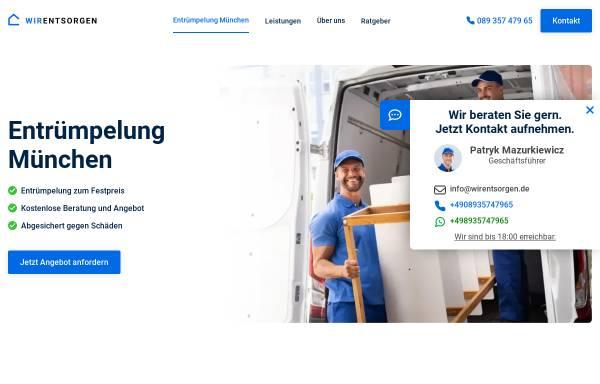 Vorschau von wirentsorgen.de, WirEntsorgen