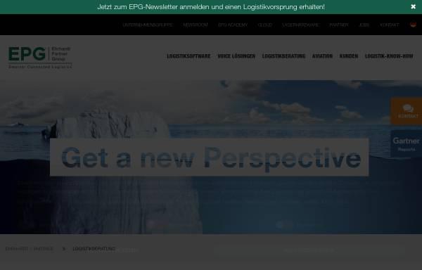 Vorschau von www.epg.com, Ehrhardt + Partner Consulting GmbH