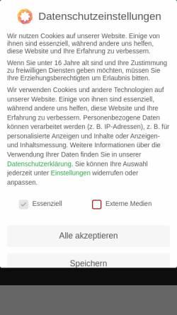 Vorschau der mobilen Webseite adt-schraubtechnik.de, ADT Fuchs GmbH