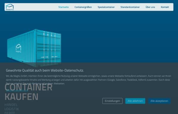 Vorschau von magitu.com, MAGITU GmbH
