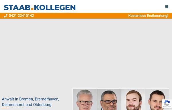Vorschau von www.staab-collegen.de, Rechtsanwaltskanzlei Staab.Kollegen