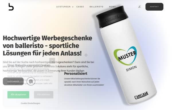 Vorschau von balleristo.solutions, BVD Deutschland GmbH