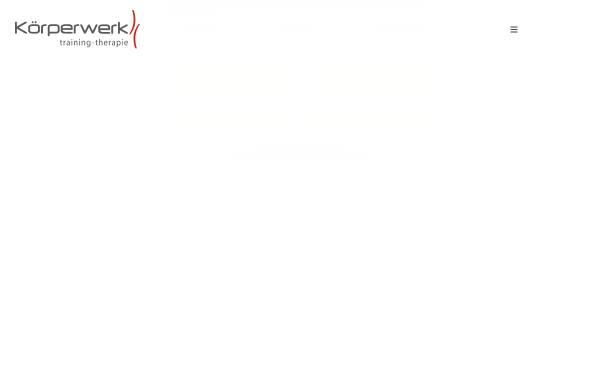 Vorschau von www.koerperwerk.com, Körperwerk