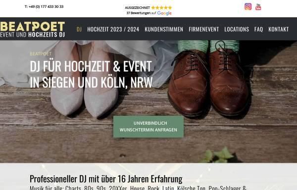 Vorschau von www.guterdj.de, Event und Hochzeits DJ BEATPOET