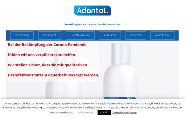 Vorschau von www.adantol.de, Arkom Chemicals GmbH