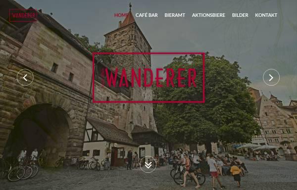 Vorschau von www.cafe-wanderer.de, Cafe Bar Wanderer