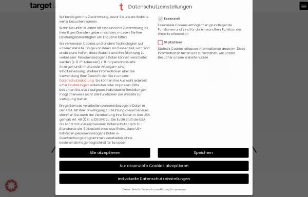 Vorschau von targetlab.de, targetlab
