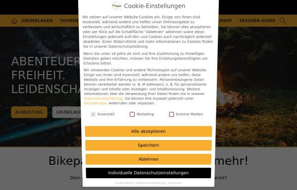 Vorschau von simple-bikepacking.de, Simple-Bikepacking
