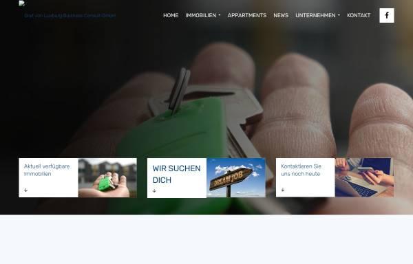 Vorschau von www.luxburg-invest.de, Graf von Luxburg Business Consult GmbH