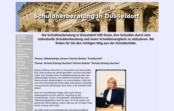 Vorschau von www.schuldnerberatung-duesseldorf.net, Schuldnerberatung in Kanzlei Lukas