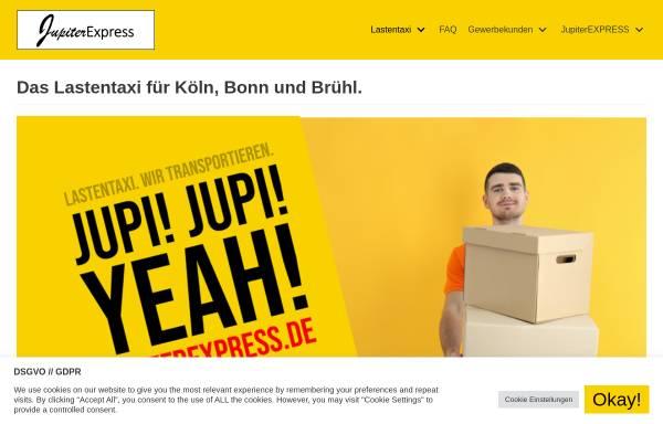 Vorschau von www.jupiterexpress.de, JupiterEXPRESS