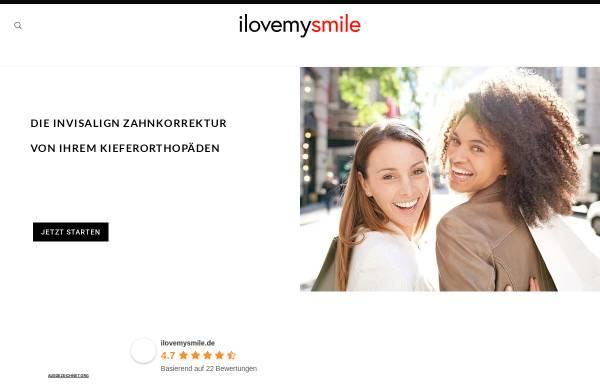 Vorschau von ilovemysmile.de, ilovemysmile GmbH