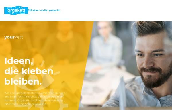 Vorschau von www.orgakett-online.de, Orgakett GmbH