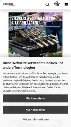 Vorschau der mobilen Webseite grill-den-spiess.de, Grill den Spieß