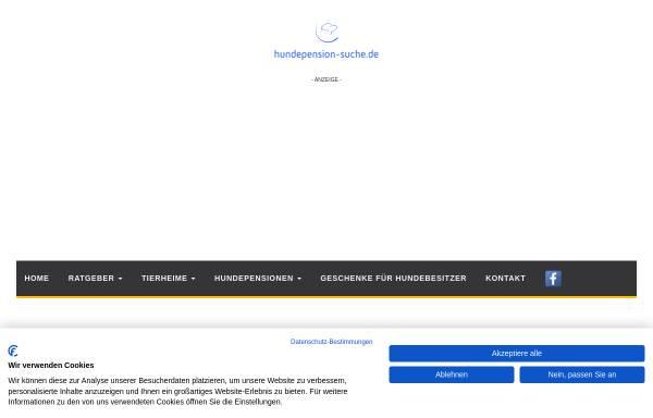 Vorschau von www.hundepension-suche.de, Hundepension-Suche