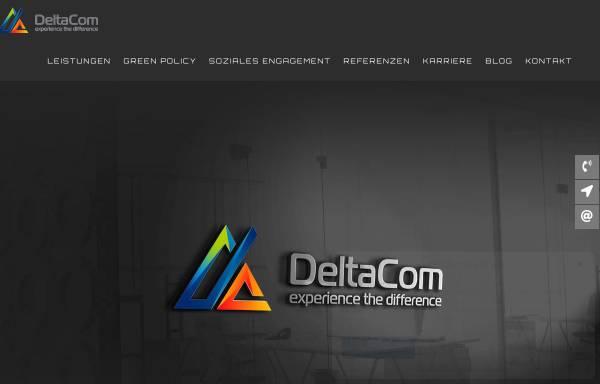 Vorschau von www.deltacom.de, DeltaCom GmbH