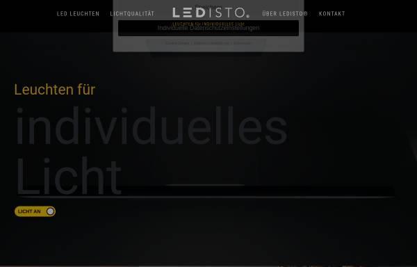Vorschau von ledisto.de, LEDISTO Leuchten GmbH
