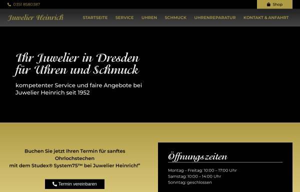 Vorschau von juwelier-dresden.com, Juwelier Heinrich