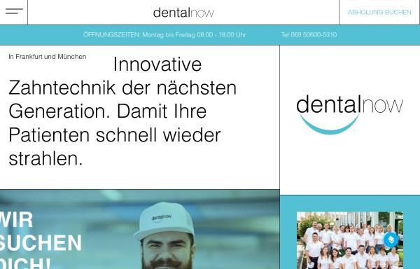Vorschau von www.dentalnow.de, dentalnow GmbH