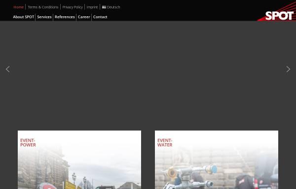Vorschau von spot-dresden.de, SPOT Elektroanlagen GmbH