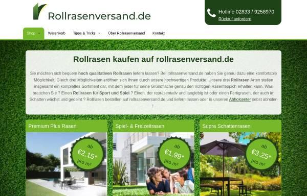 Vorschau von www.rollrasenversand.de, Rollrasenversand.de