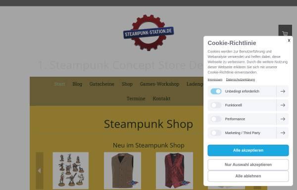 Vorschau von www.steampunk-station.de, steampunk-station.de