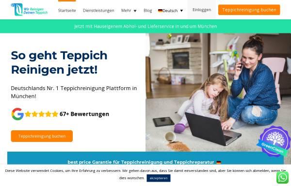 Vorschau von wirreinigendeinenteppich.de, Wir Reinigen Deinen Teppich