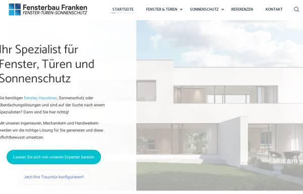 Vorschau von www.fensterbau-franken.de, Fensterbau Franken
